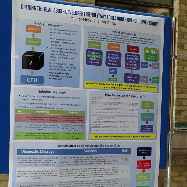 opencl conference poster